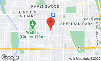 Map of 4406 North Wolcott Avenue #1 CHICAGO, IL 60613