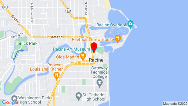 Google Map of 441 Main Street, Racine, WI 53403