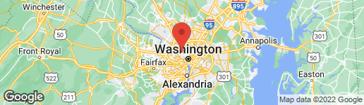 Map of 4416 BUTTERWORTH PLACE NW WASHINGTON, DC 20016