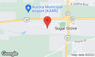 Map of 442 Snow Street SUGAR GROVE, IL 60554
