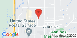 Google Map of 4420 76th Street NE+Marysville+WA+98270