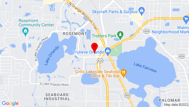 Google Map of 4420 PARKWAY COMMERCE BLV, Orlando, FL 32808