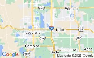 Map of Loveland RV Resort
