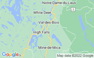 Map of Camping Saey