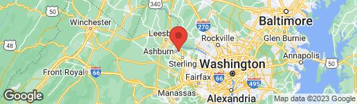 Map of 44319 LADIESBURG PLACE ASHBURN, VA 20147