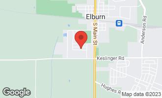 Map of 444 Banbury Avenue ELBURN, IL 60119