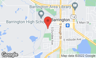Map of 444 Lageschulte Street BARRINGTON, IL 60010