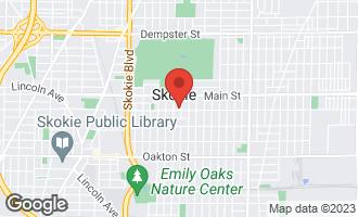 Map of 4440 Madison Street SKOKIE, IL 60076