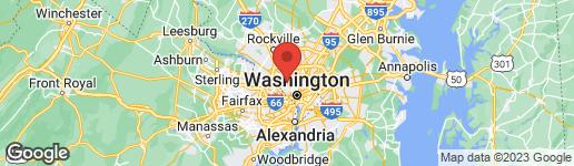Map of 4442 ELLICOTT STREET NW WASHINGTON, DC 20016