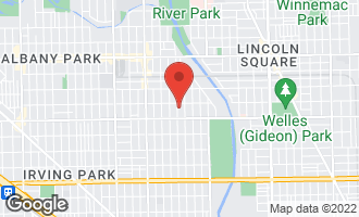 Map of 4443 North Sacramento Avenue CHICAGO, IL 60625