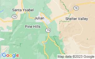 Map of Pinezanita Campground & RV Park