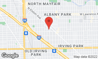 Map of 4446 North Keokuk Avenue CHICAGO, IL 60630
