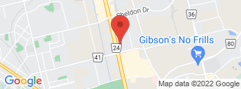 Google Map of 445+Hespeler+Rd%2CCambridge%2COntario+N1R+6J2