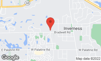 Map of 448 Macbain Way INVERNESS, IL 60010