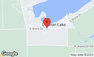Map of 4485 South Shore Drive Delavan, WI 53115