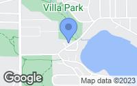 Map of Roseville, MN