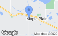 Map of Maple Plain, MN
