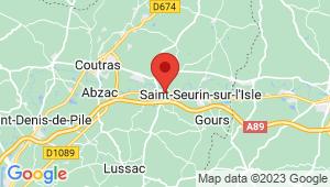 Carte de localisation du centre de contrôle technique SAINT MEDARD DE GUIZIERES