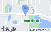 Map of Roseville, MN