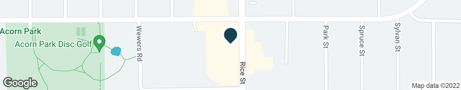 Google Map of2635 RICE ST