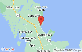 Map of Lions Head