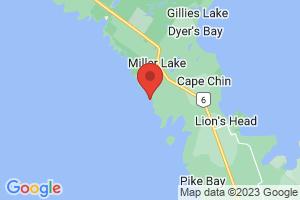 Map of Larsen Cove