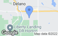 Map of Delano, MN