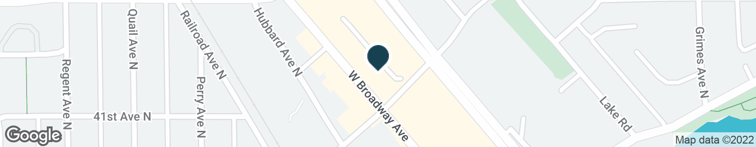 Google Map of4100 W BROADWAY AVE