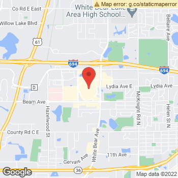 Map of Dr. Jeanny Liu-Wu, Optometrist, and Associates at 3001 White Bear Ave, Maplewood, MN 55109