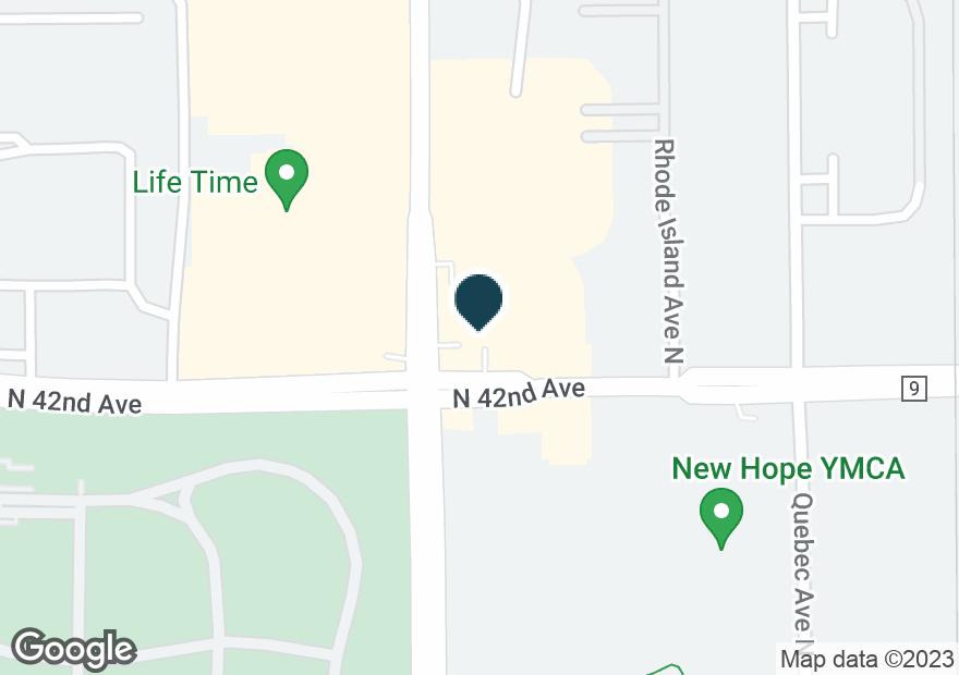 Google Map of4200 WINNETKA AVE N