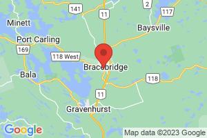 Map of Bracebridge