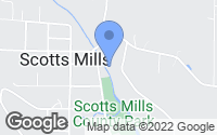 Map of Scotts Mills, OR
