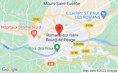 16 Place Maurice Faure, 26100 Romans, Rhone-Alpes, France