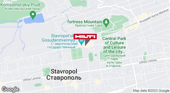 Региональный представитель Hilti в г. Ставрополь