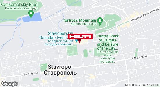 Get directions to Региональный представитель Hilti в г. Ставрополь