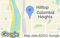 Map of Columbia Heights, MN