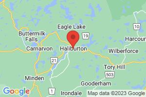 Map of Haliburton