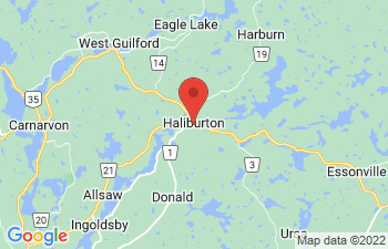 Map of Haliburton