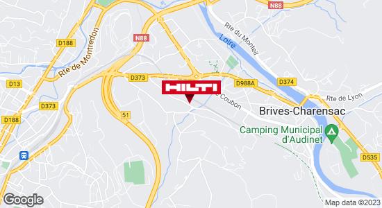 Hilti Store chez Point P - Brives Charensac / Le Puy en Velay (ZI de Corsac 2)