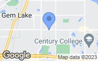 Map of Saint Paul, MN
