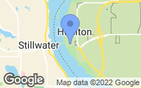 Map of Houlton, WI