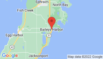 Map of Baileys Harbor