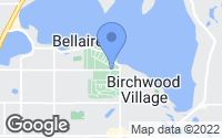 Map of White Bear Lake, MN