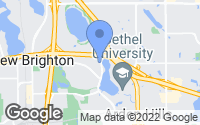 Map of Arden Hills, MN