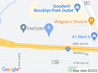 Map of Happy Tails Dog Boarding options in Brooklyn Park | Boarding