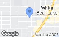 Map of White Bear Lake, MN