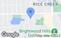Map of New Brighton, MN