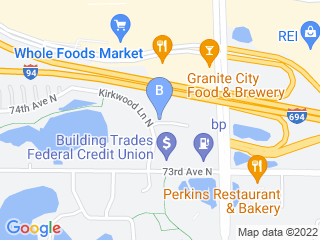Map of Adogo Pet Hotel Dog Boarding options in Maple Grove | Boarding