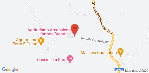 Directions to Agriturismo Arcobaleno fattoria Didattica