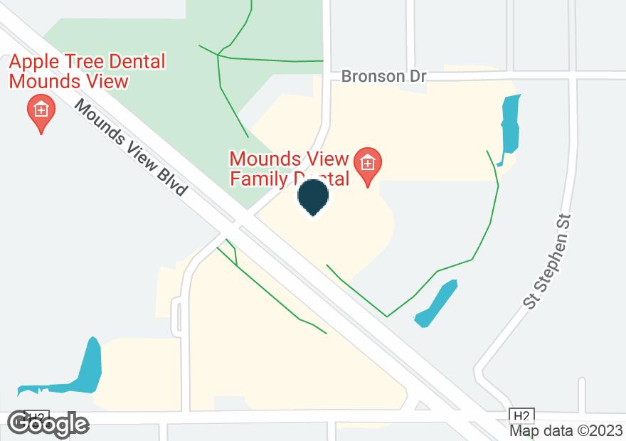 Google Map of2387 HIGHWAY 10
